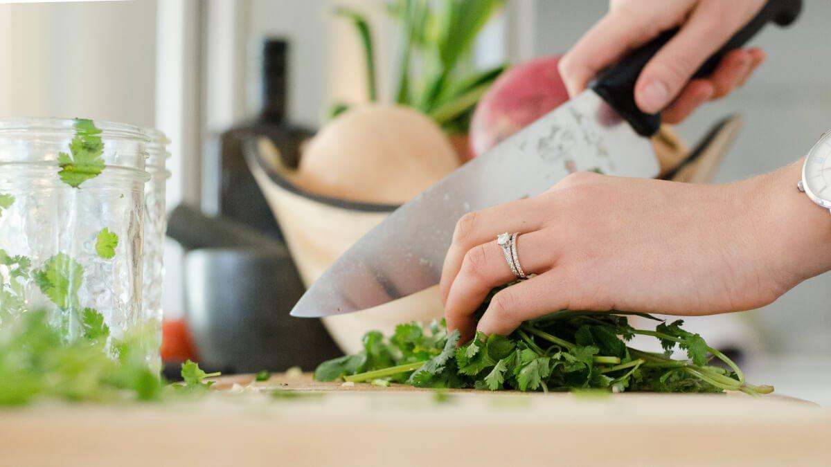 Vassa knivar till matlagning